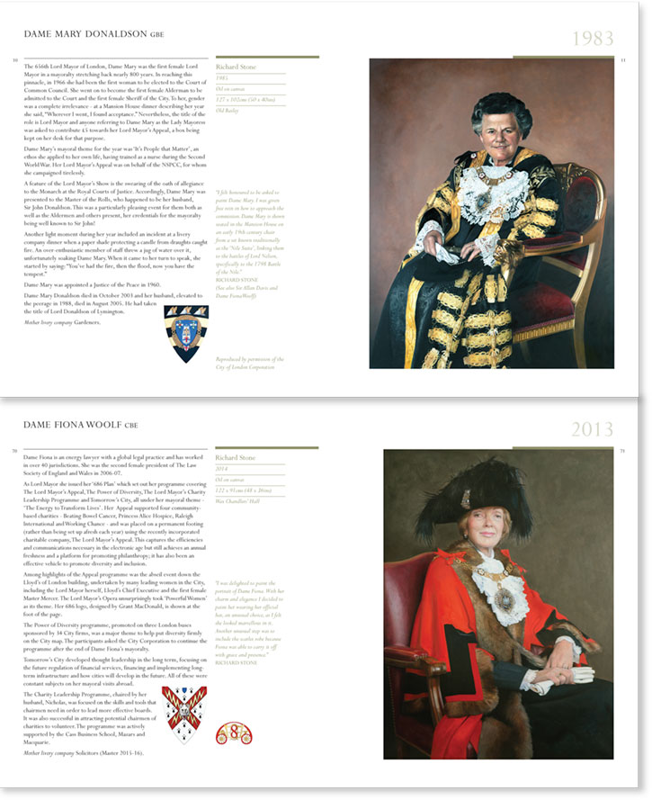 Lord Mayors' Portraits